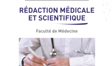 Lancement du DU « REDACTION MEDICALE ET SCIENTIFIQUE »