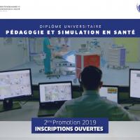 Lancement du DU Pédagogie et Simulation en Santé