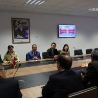 Visite de l'Ambassadeur de Chine à l'UM6SS