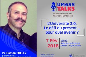UM6SS TALKS #2 Hassan Chelly_Plan de travail 1