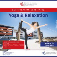 Certificat Universitaire en Yoga et relaxation