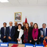 Signature de Convention entre l'UM6SS et Atlas Pharm (Groupe Tecnimede)