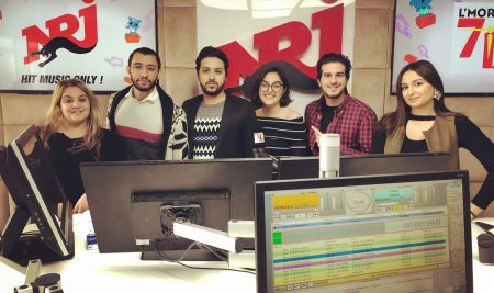 Le BDE UM6SS sur le Morning de Othmane sur NRJ Maroc
