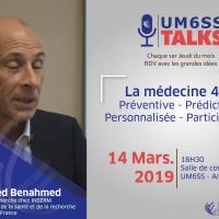 UM6SS Talks # 3 : La Médecine 4P