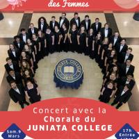 la FSTS célèbre la Journée de la Femme avec la Chorale de Juniata College USA
