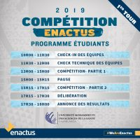 La 1ère session de la compétition nationale d'Enactus Morocco