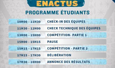 La 1 ère session de la compétition nationale d'Enactus Morocco à L'UM6SS