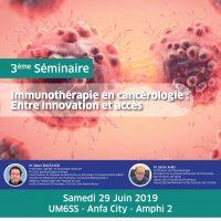 Séminaire Immunothérapie en cancérologie : Entre innovation et accès
