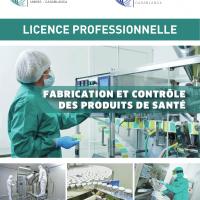 Inscriptions ouvertes : Licence professionnelle fabrication et contrôle des produits de santé