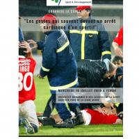 L'AMSD organise une conférence sur « Les gestes qui sauvent devant un arrêt cardiaque d'un sportif » à l'UM6SS