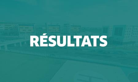 Résultats du concours d'accès à la 3e année de la Faculté de Pharmacie de l'UM6SS