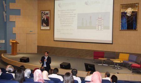 Réception d'Echanges Scientifiques et Pédagogiques entre la Faculté de Médecine de l'UM6SS et les encadrants de ses étudiants dans les établissements hospitaliers