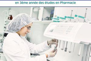Concours d'accès 3e année pharmacie