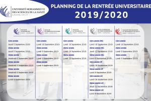 calendrier rentrée 2019_Plan de travail 1