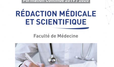 Lancement du DU « REDACTION MEDICALE ET SCIENTIFIQUE »