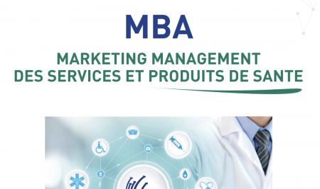 MBA Marketing-Management des Services et Produits de Santé