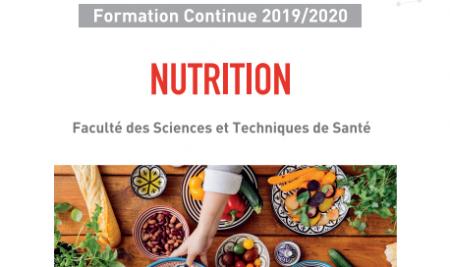 """Lancement du DU 'Nutrition"""""""