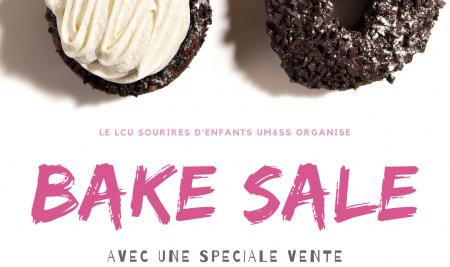 LCU sourires d'enfants UM6SS organise un Bake Sale