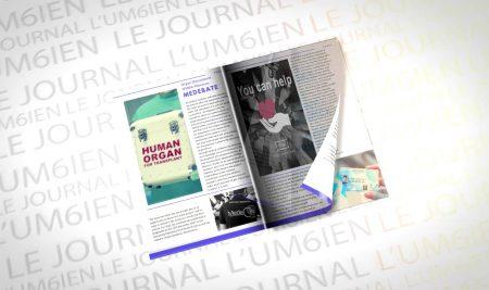Lancement de l' « UM6ien » , le 1er journal électronique estudiantin de l'UM6SS