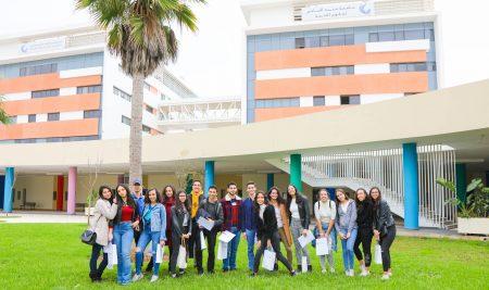 Les élèves du Lycée Al Jabr visitent l'UM6SS