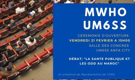 Cérémonie d'ouverture de la 1ère édition du MWHO UM6SS