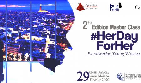 l'UM6SS accueille la 2ème édition du Master Class #HerDayForHer