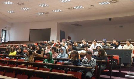Les lycéens du lycée La Ruche visitent l'UM6SS