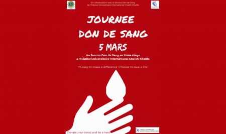 LCU sourires d'enfants UM6SS organise une journée don de sang