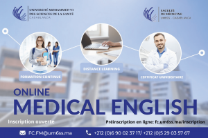 Affiche CU Medical English-1